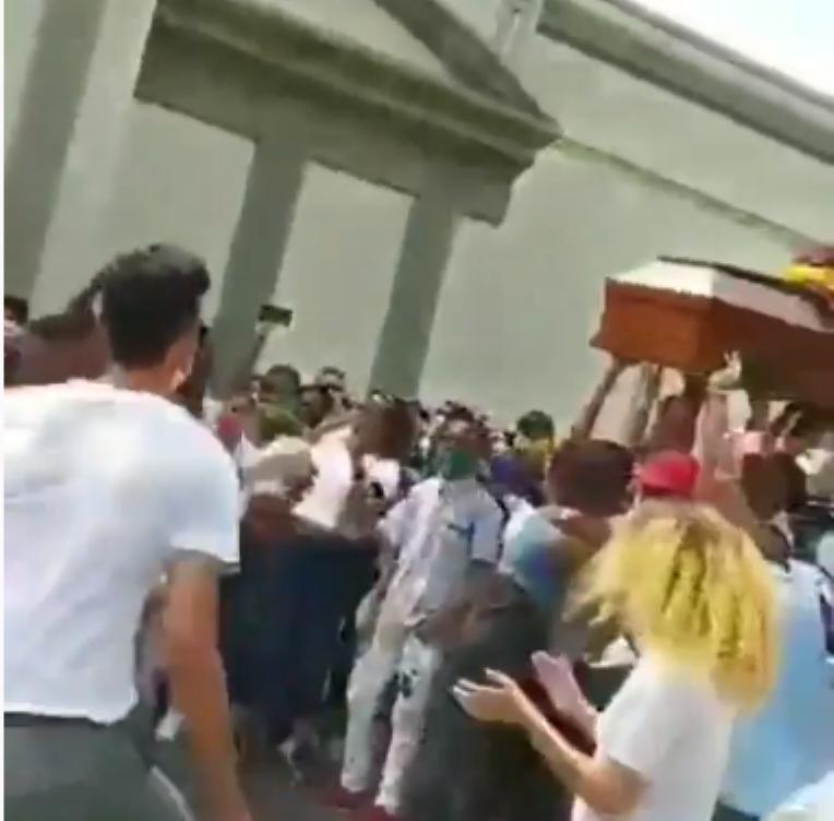 359697_Sepelio en Barranquilla. Foto: Cortesía