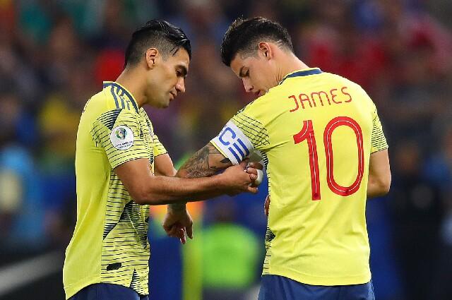 Capitanes de la Selección Colombia sin James ni Falcao