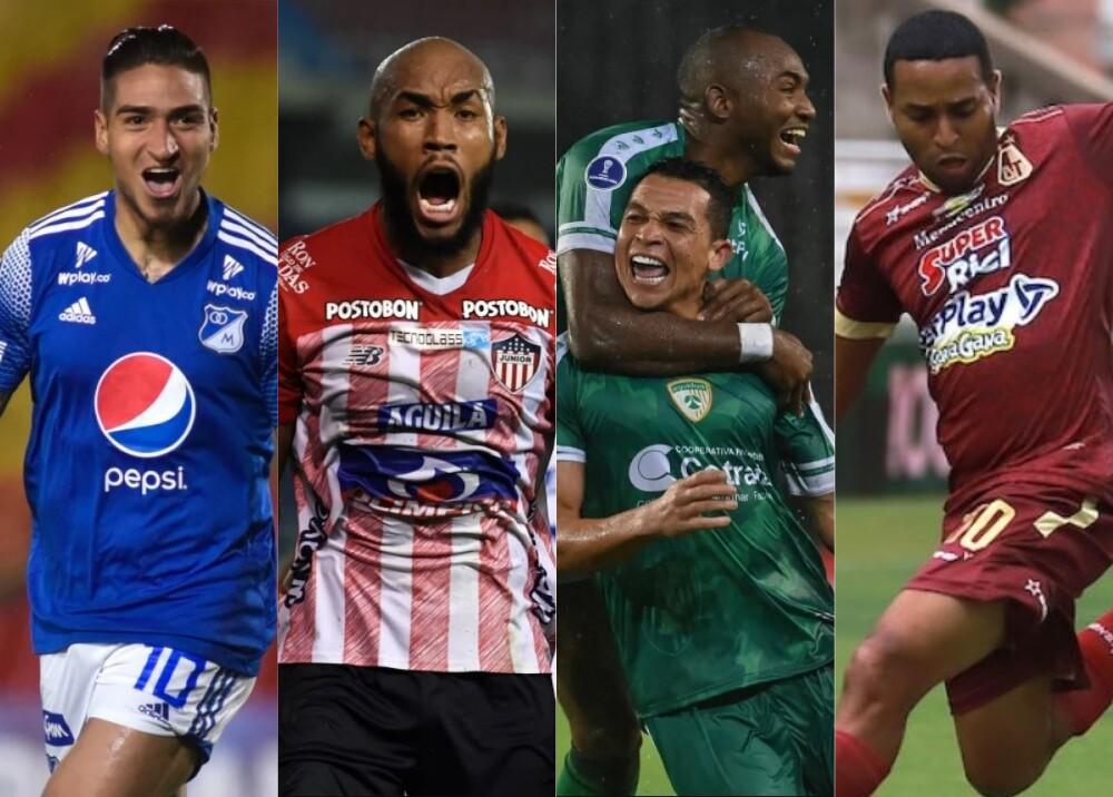 Semifinalistas liga colombiana Foto DIMAYOR.jpg