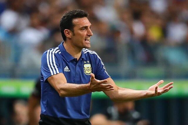 334652_Lionel Scaloni, técnico de la Selección Argentina.