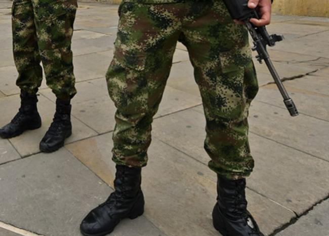 236737_Militares // Foto: AFP, imagen de referencia