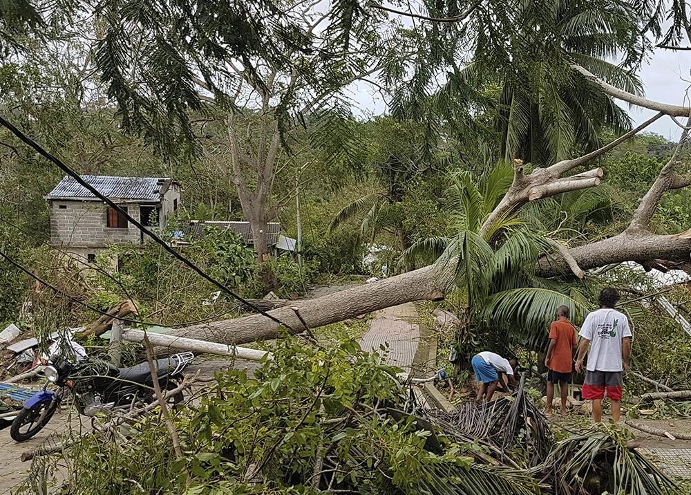 Devastación del huracán Iota en Providencia / AFP