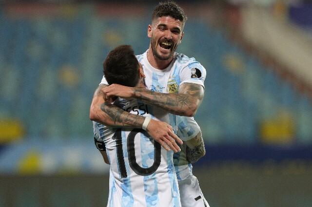 Selección Argentina contra Ecuador