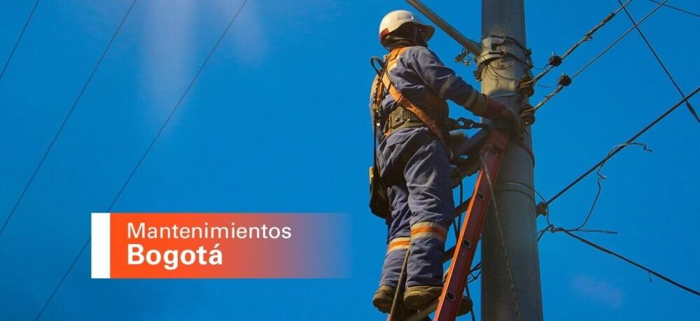 Mantenimientos cortes de energía Foto: Enel-Codensa