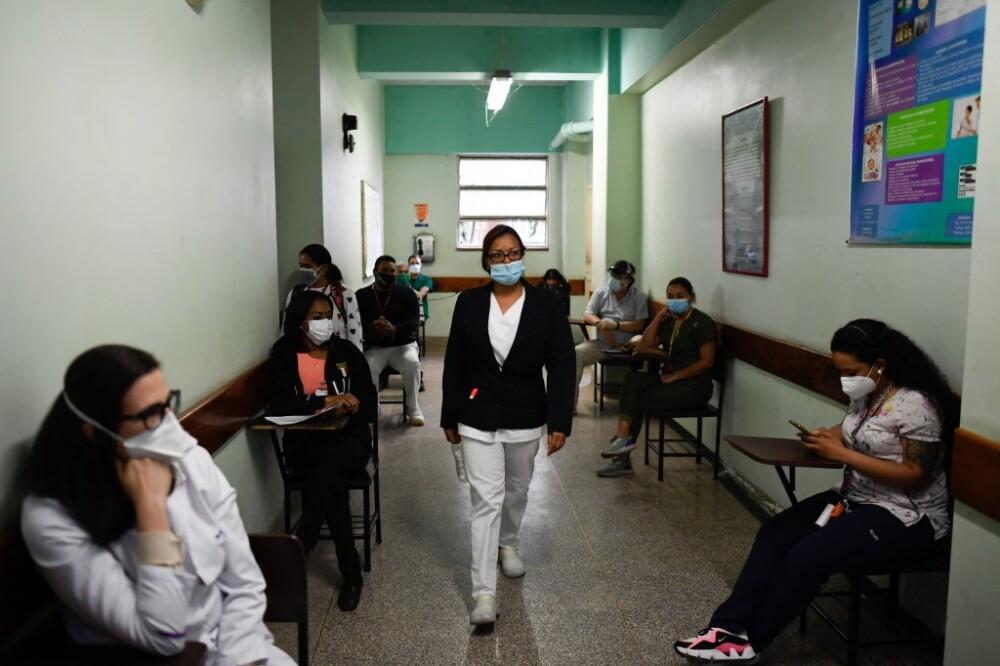 Coronavirus en Venezuela. Foto AFP