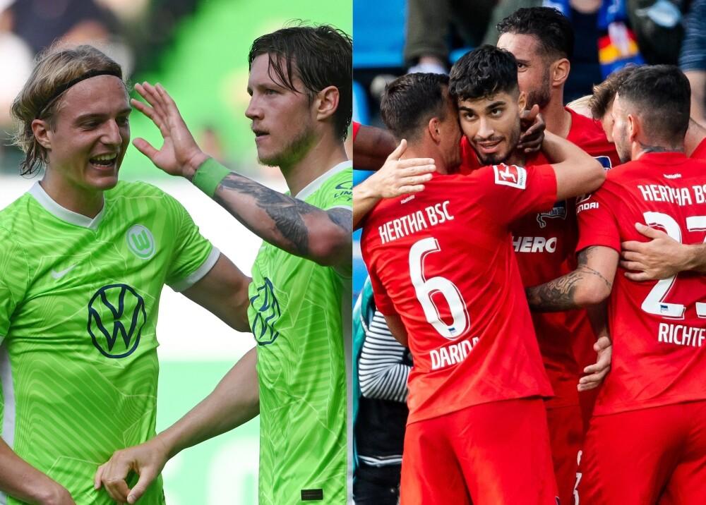 Wolfsburgo y Hertha Berlín Foto AFP.jpg