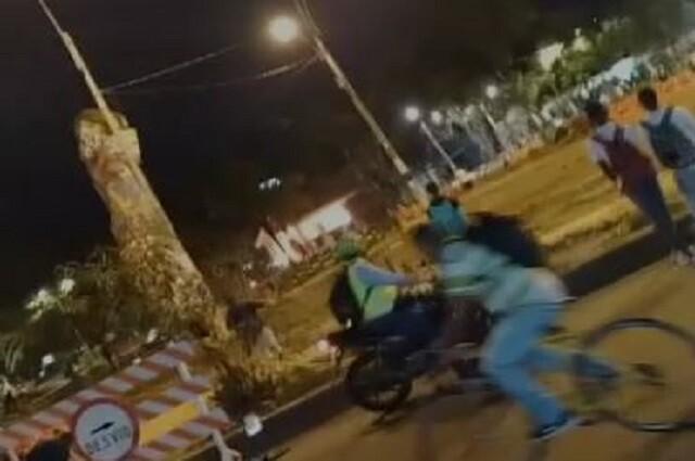 Cai Incinerado en Puerto Rellena