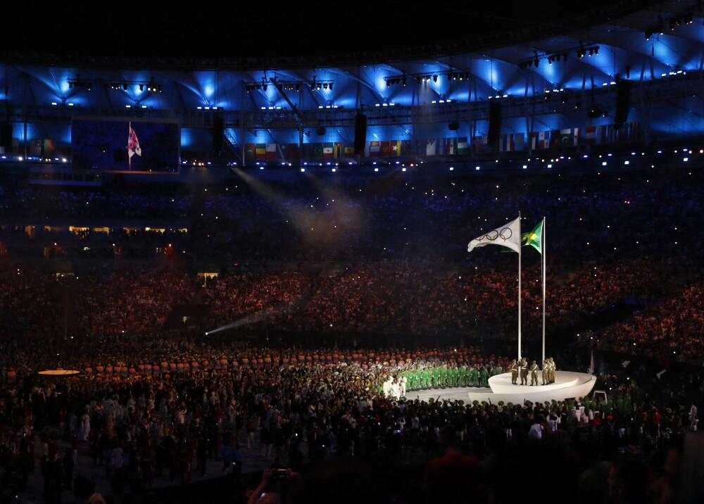 Ceremonia de inauguración Río 2016 Referencia Foto AFP.jpg
