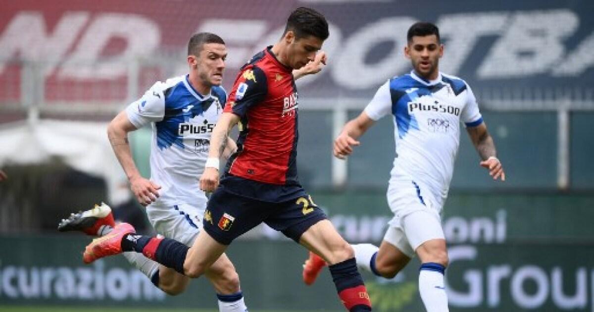 Genoa 3 vs Atalanta 4: lluvia de goles en un compromiso que ganó la 'diosa'