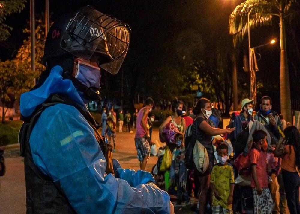 371139_BLU Radio: Traslado Migrantes Bucaramanga / Foto: Suministrada