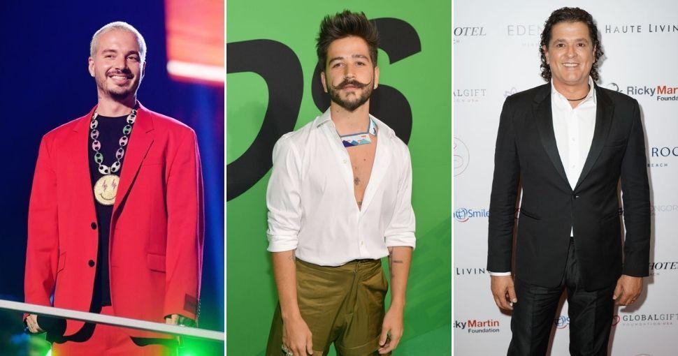 J Balvin, Camilo y Carlos Vives
