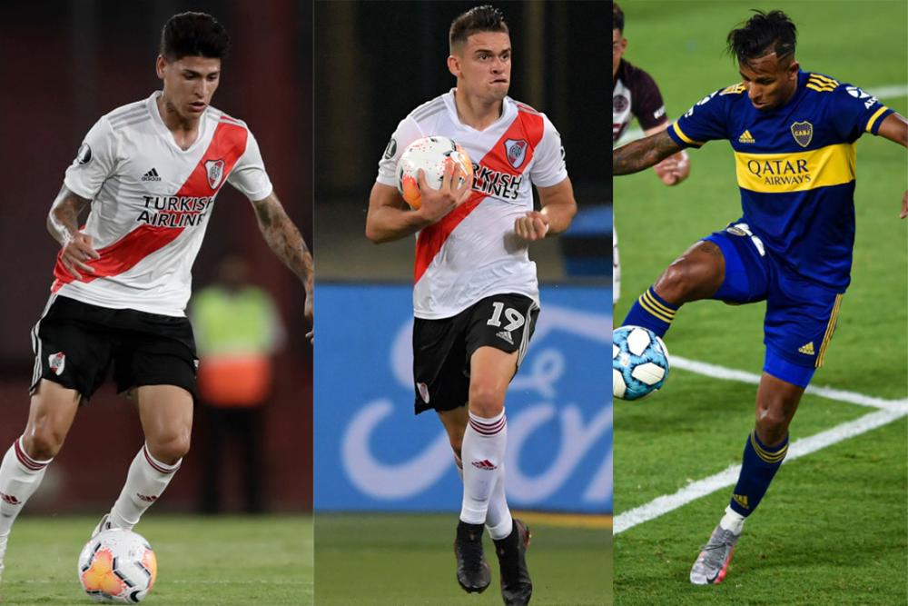 Jugadores colombianos en el fútbol argentino. Getty Images.png