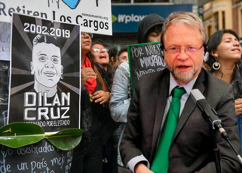 350902_Antanas Mockus habla sobre el caso de Dilan Cruz // Fotos: AFP - BLU Radio