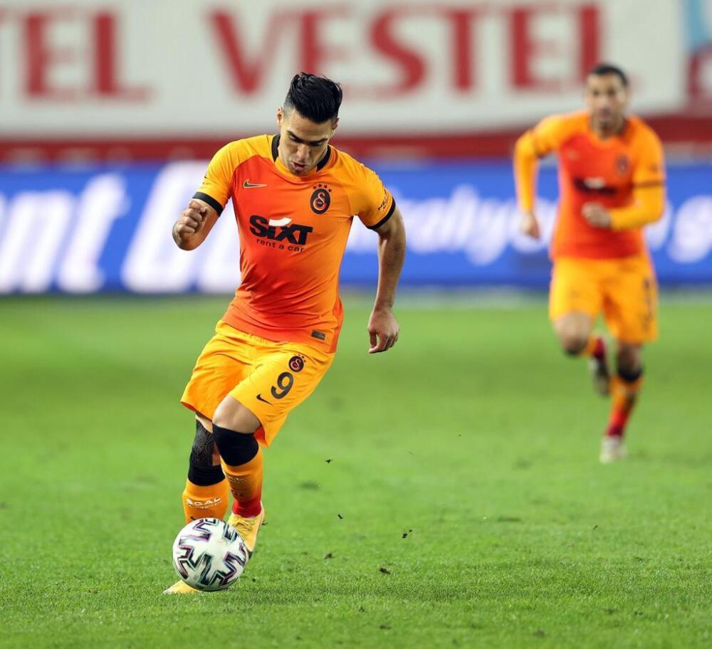 Falcao García, delantero de Galatasaray