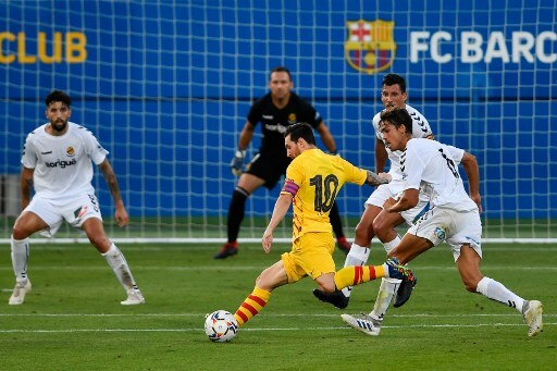 Lionel Messi vs Nàstic