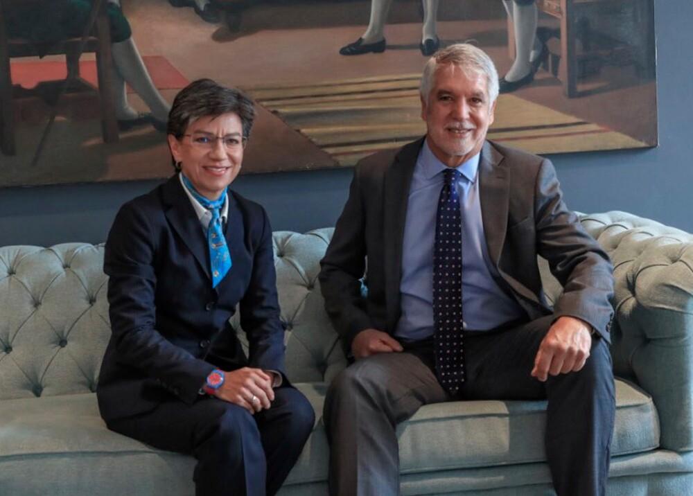 347208_BLU Radio. Claudia López y Enrique Peñalosa / Foto: Alcaldía de Bogotá