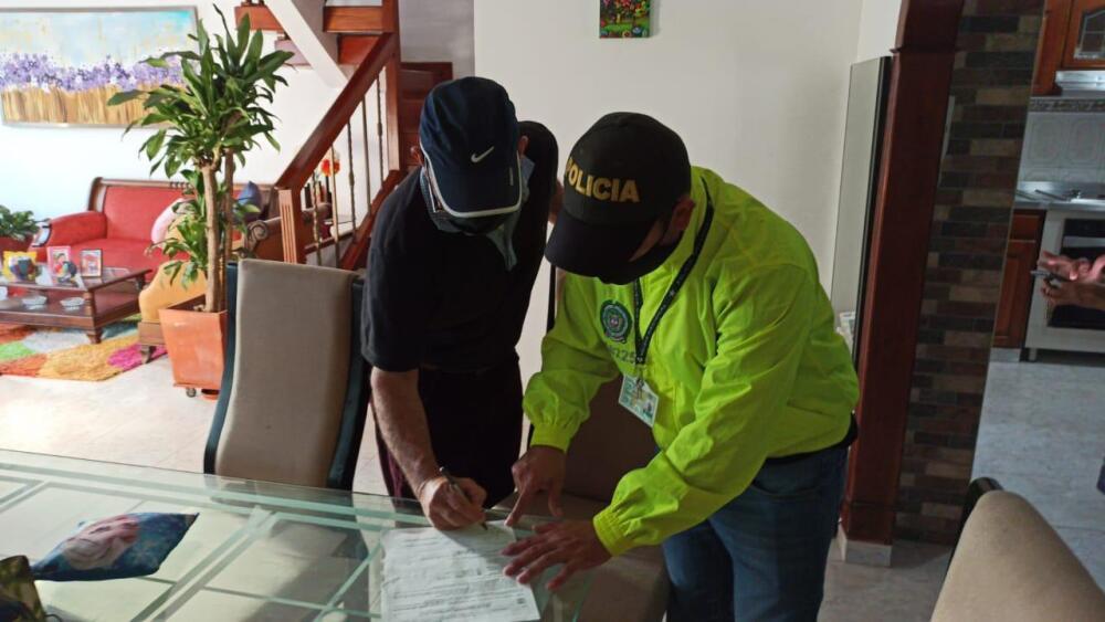 Allanamiento a casa del Fiscal, Gustavo Adolfo Orozco, capturado en Barranquilla.jpeg