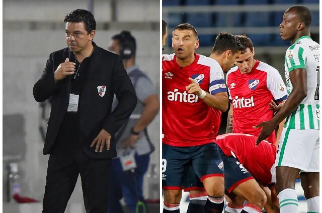 River Plate y Nacional