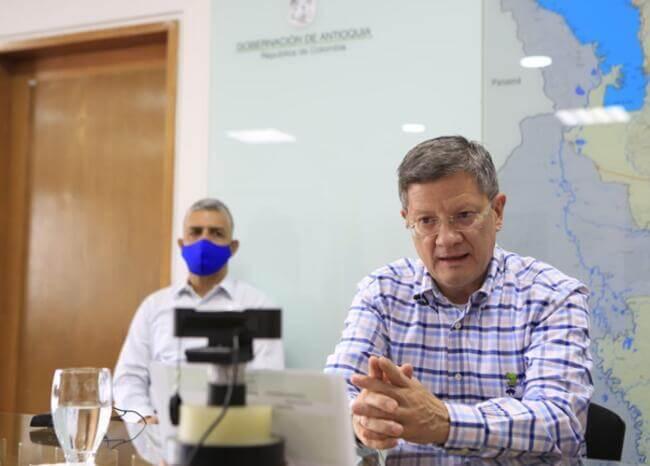 372831_Gobernador encargado de Antioquia, Luis Fernando Suárez. / Foto: Gobernación de Antioquia