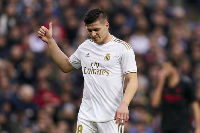 Luka Jovic, jugador del Real Madrid