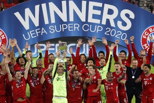 Bayern Múnich campeón Supercopa 2020