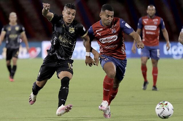 Independiente Medellín contra Águilas Doradas, en la Liga colombiana