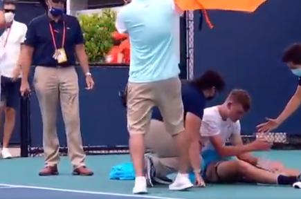 Jack Draper se desplomó en pleno partido del Masters 1000 de Miami.