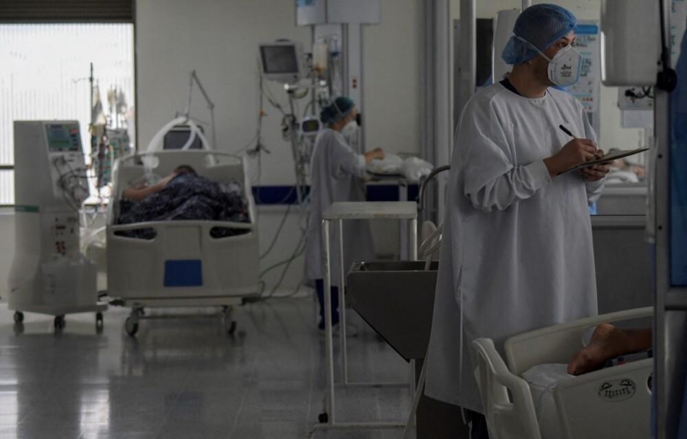 Enfermo de Covid-19 en Bogotá