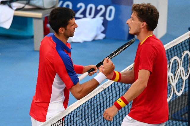 Novak Djokovic contra Pablo Carreño, en Juegos Olímpicos