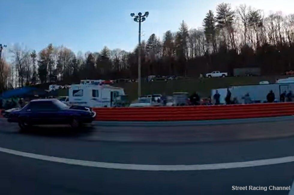 Video de accidente de carro de carreras