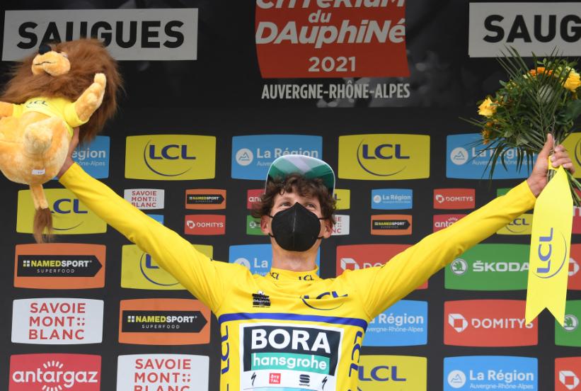 Lukas Postlberger es el líder del Critérium del Dauphiné 2021.