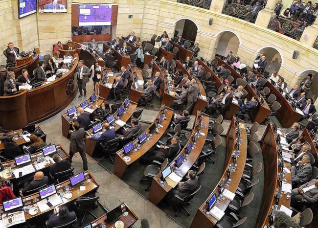 338218_BLU Radio. Plenaria Congreso // Foto: Prensa Senado