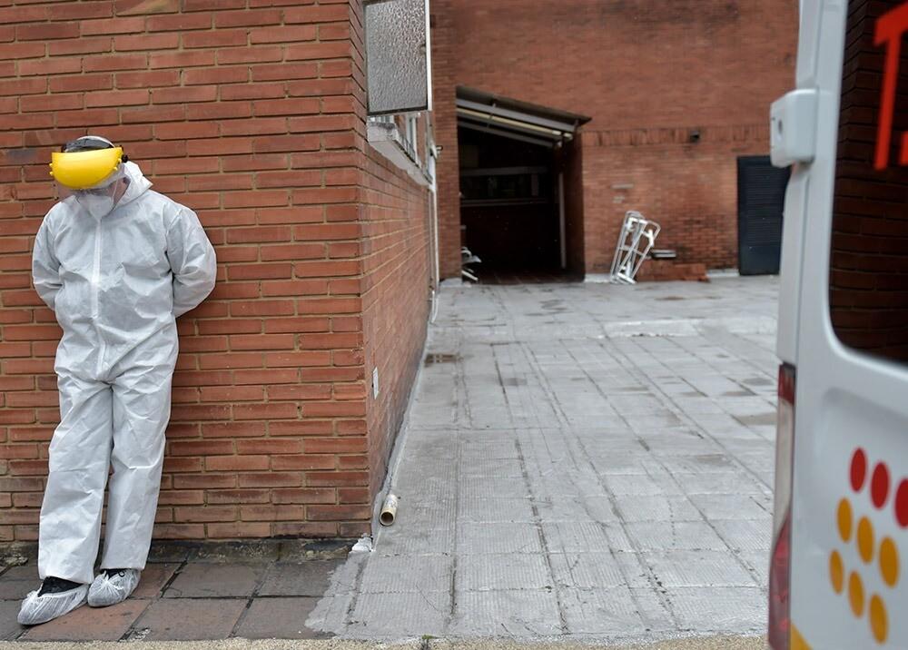371243_Sistema de salud de Bogotá durante la pandemia // Foto: AFP, imagen de referencia