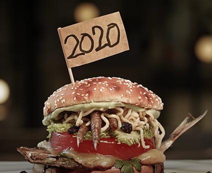 Hamburguesa sabor 2020