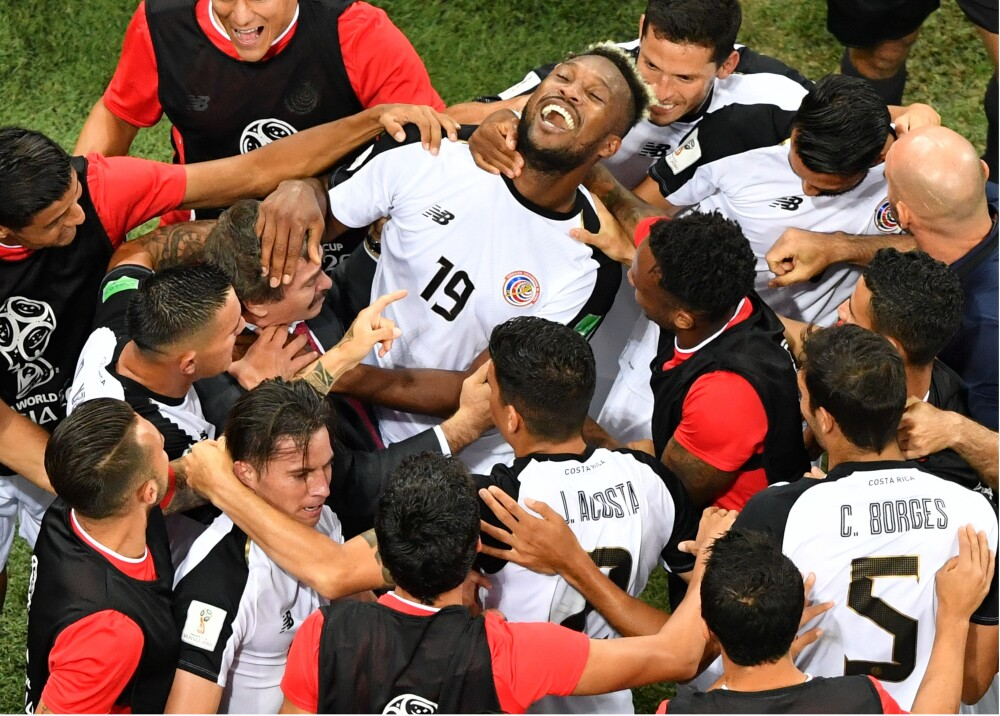 309864_Costa Rica empató 2-2 con Suiza - Foto: AFP