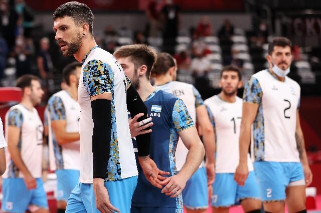 Argentina vs. Francia, en voleibol de los Juegos Olímpicos de Tokio