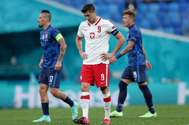 Eslovaquia contra Polonia, en la Eurocopa