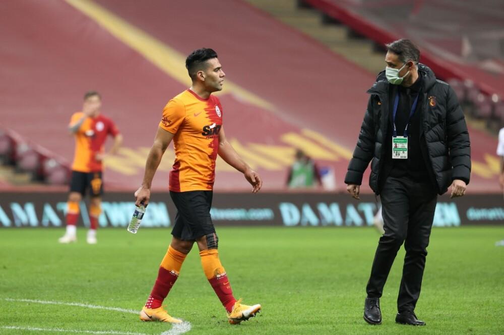 Falcao García, lesión Galatasaray