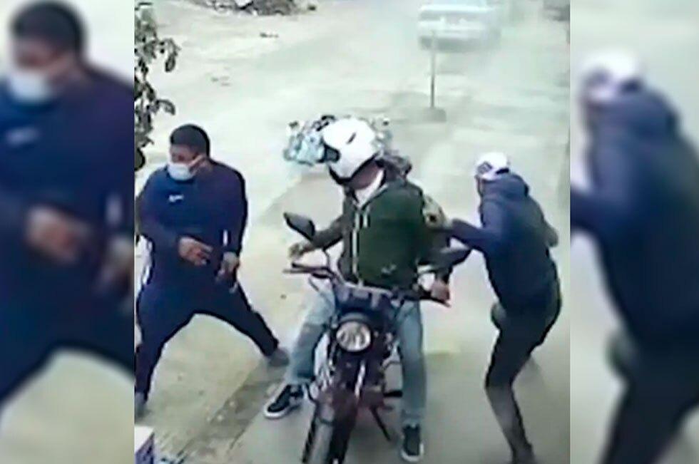Robo frustrado en Perú