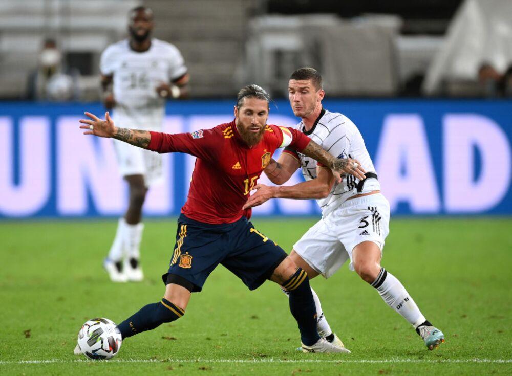 Sergio Ramos, jugador de la Selección de España