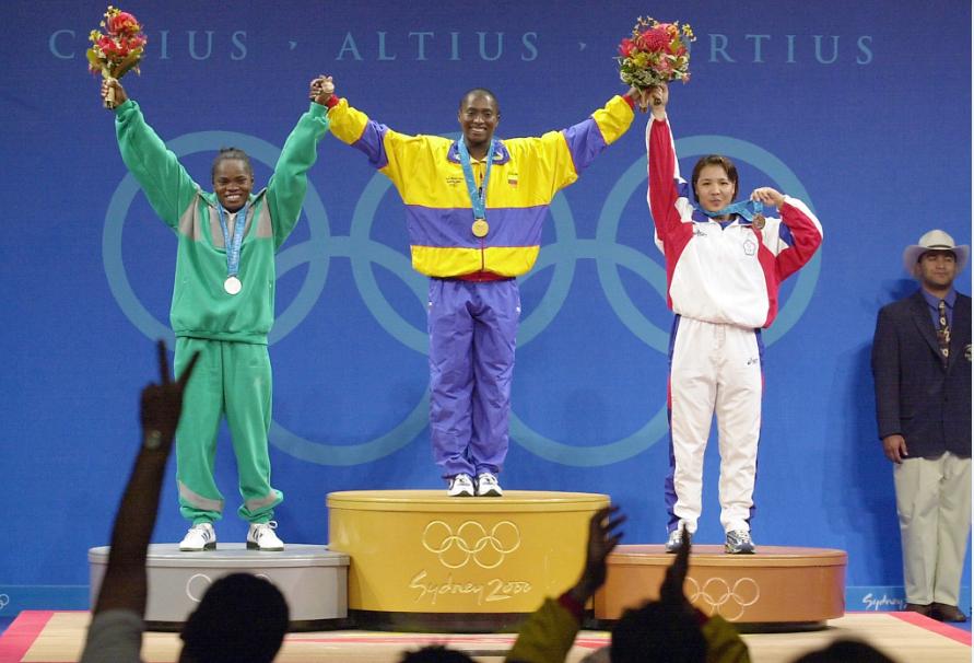 María Isabel Urrutia logró la primera medalla de oro de Colombia en la historia de los Juegos Olímpicos.