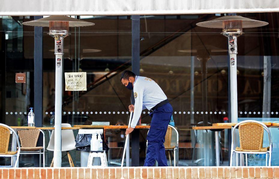 376287_Reapertura restaurantes // Foto: AFP