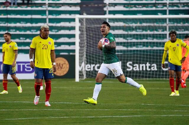 La Selección Colombia visitó a Bolivia, en Eliminatorias