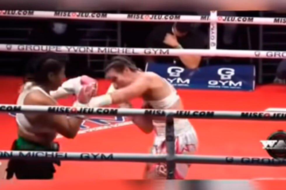 Combate de boxeadora mexicana que murió