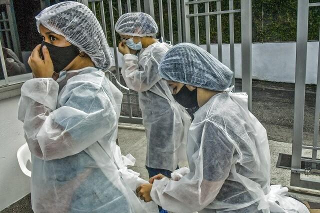 Casos de coronavirus en Colombia el 28 de septiembre de 2021
