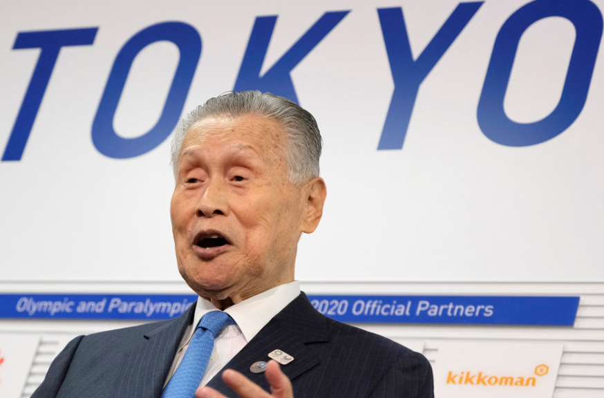 Yoshiro Mori, Presidente del comité organizador Tokio 2020.