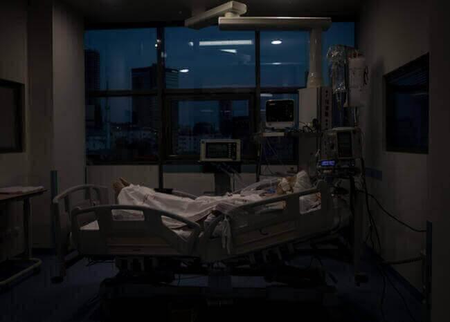 Paciente en UCI