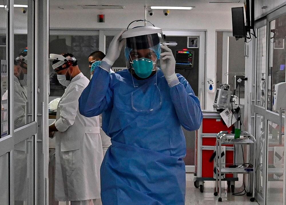 359383_Médicos / Foto: AFP