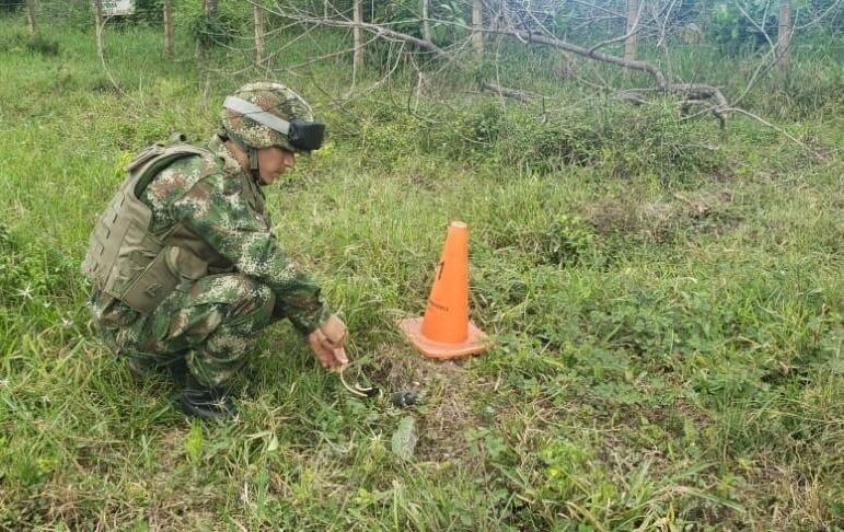 Ejército Nacional frustra atentado en Arauca