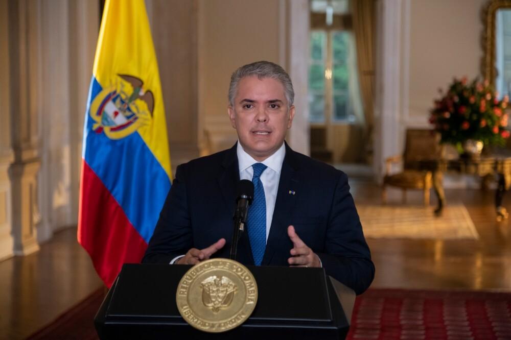 Presidente Iván Duque Foto Presidencia.
